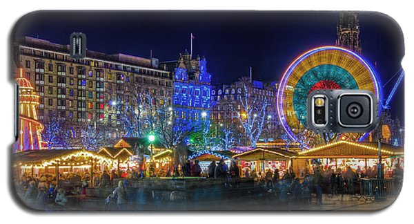 Edinburgh Christmas Market Galaxy S5 Case