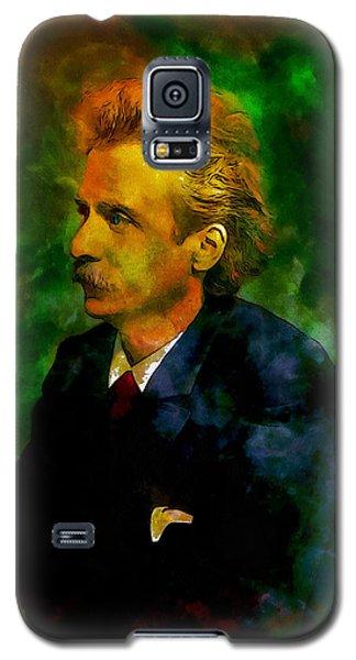 Edvard Grieg Galaxy S5 Case by Kai Saarto