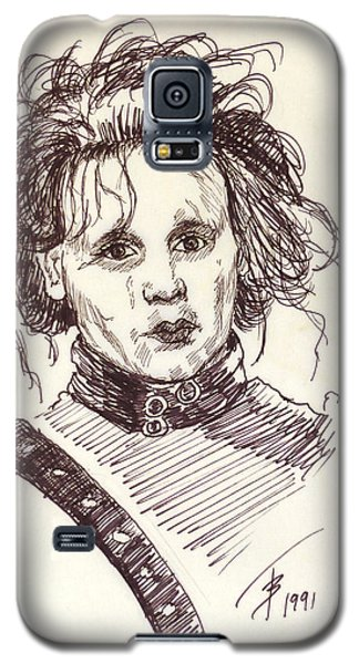 Edward Sissorhands Galaxy S5 Case