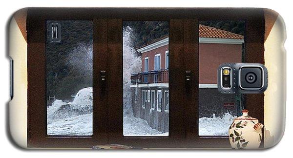 Galaxy S5 Case featuring the digital art Eftalou Greece by Eric Kempson