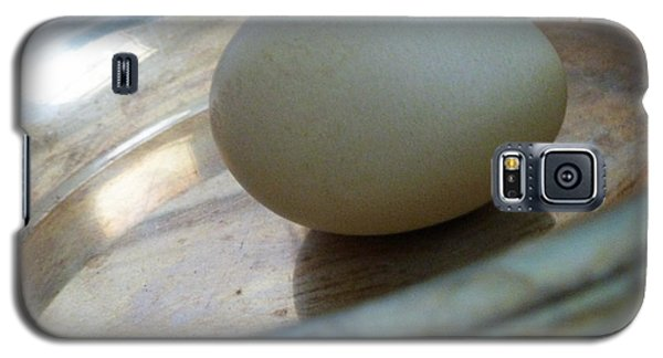 Egg In A Dish Galaxy S5 Case by Sally Simon