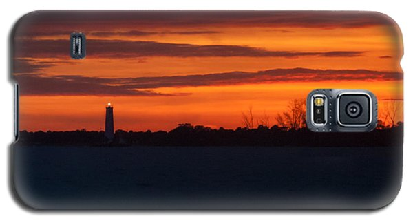 Egmont Key Lighthouse Sunset Galaxy S5 Case