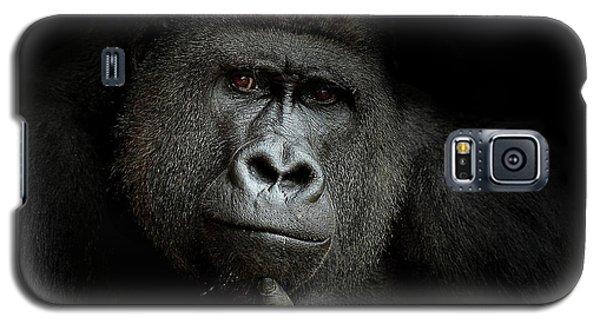 Gorilla Galaxy S5 Case - Ego Cogito, Ergo Sum by Artistname