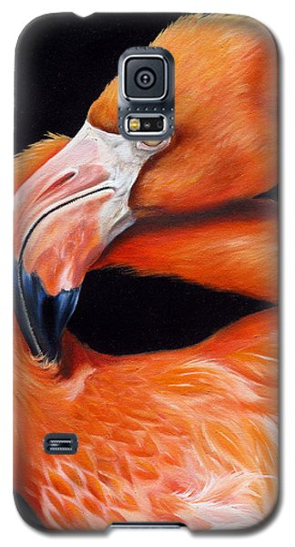 Galaxy S5 Case featuring the painting EGO by Phyllis Beiser