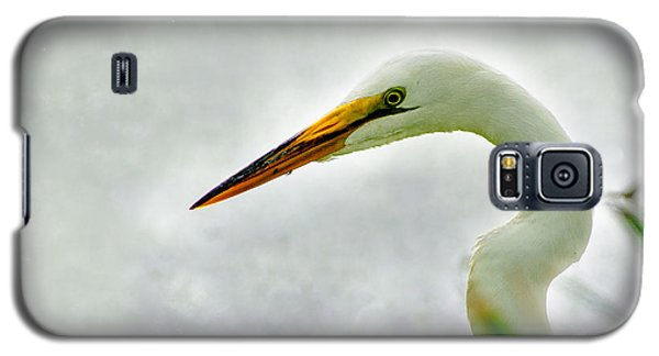 Egret Close-up Galaxy S5 Case