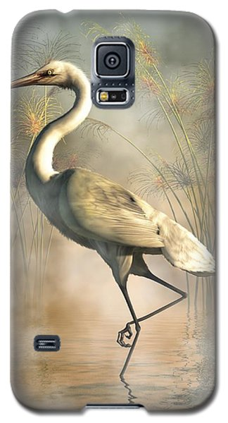Egret Galaxy S5 Case by Daniel Eskridge