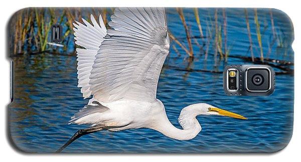 Egret In Motion Galaxy S5 Case