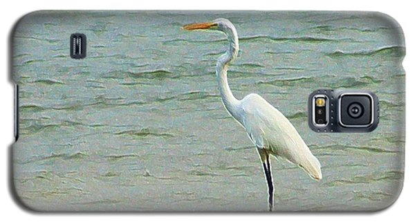 Egret In The Shallows Galaxy S5 Case