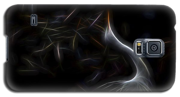 Galaxy S5 Case featuring the digital art Egret Rookery 1 by William Horden