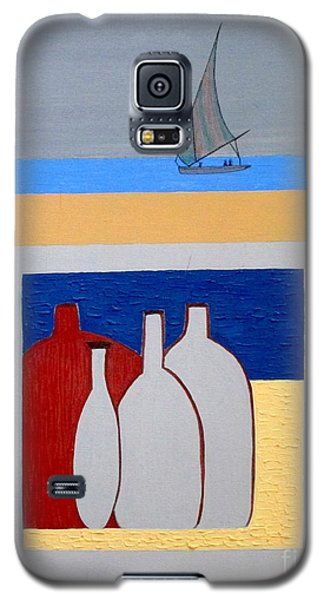 Galaxy S5 Case featuring the painting Egypt Afternoon by Bill OConnor