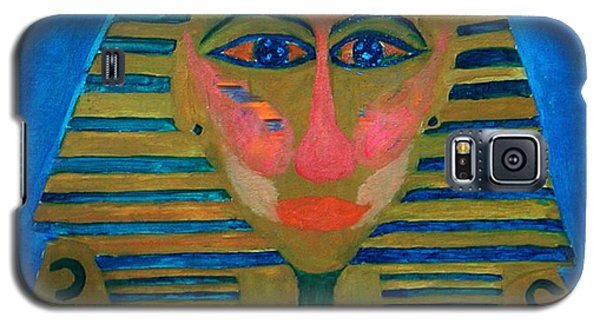 Galaxy S5 Case featuring the painting Egypt Ancient  by Colette V Hera  Guggenheim
