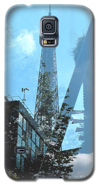 Eiffel Collage Galaxy S5 Case