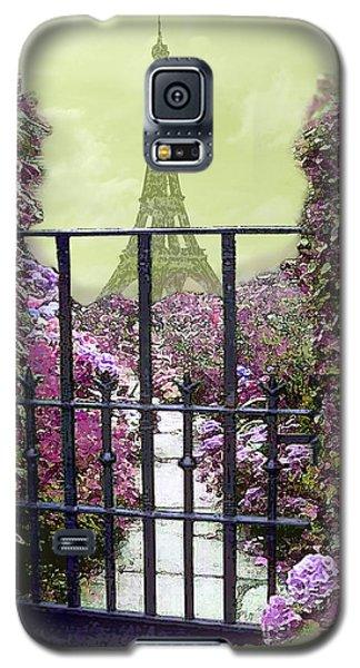 Eiffel Garden Galaxy S5 Case