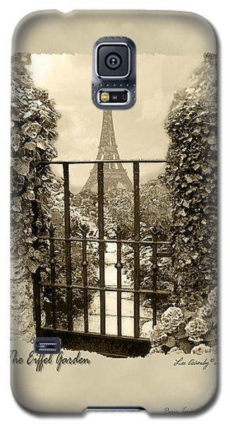 Eiffel Garden Sepia Galaxy S5 Case