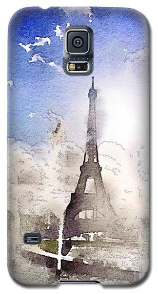 Eiffel During Summer Galaxy S5 Case