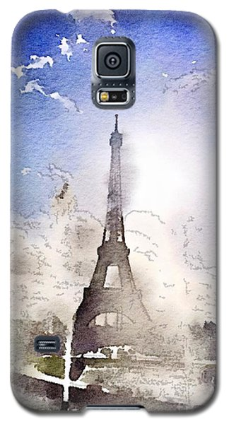 Eiffel During Summer Galaxy S5 Case
