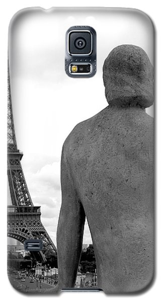 Galaxy S5 Case featuring the photograph Eiffel Lady by Lisa Parrish