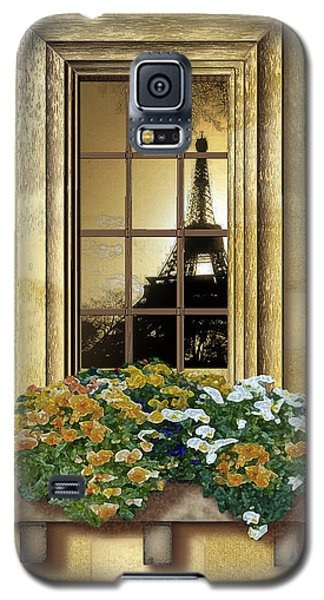 Eiffel Reflection Galaxy S5 Case