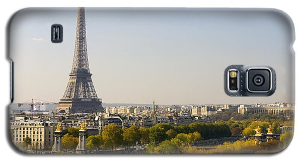 Paris France The Eiffel Tower Galaxy S5 Case
