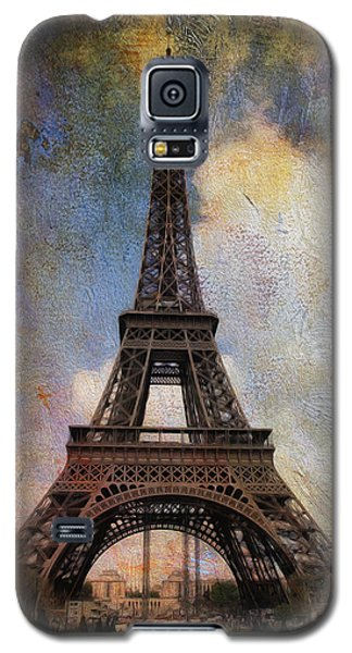 Galaxy S5 Case featuring the photograph Eiffel Tower As Oil by James Bethanis