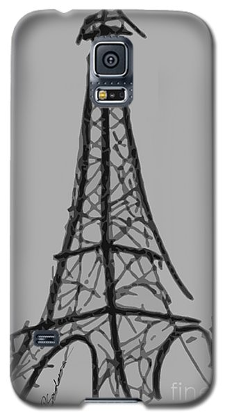 Eiffel Tower Lines Galaxy S5 Case