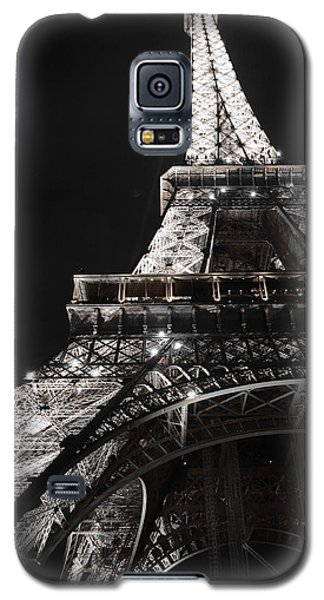 Eiffel Tower Paris France Night Lights Galaxy S5 Case