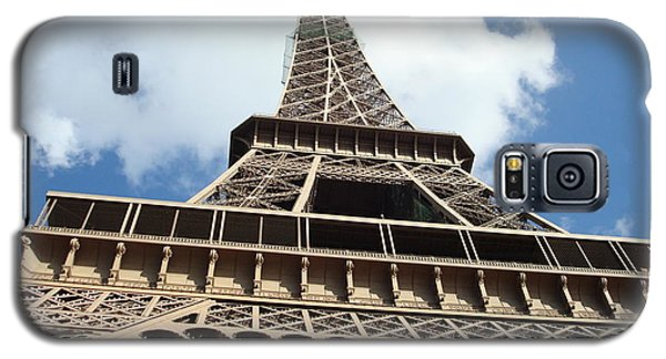 Galaxy S5 Case featuring the photograph Eiffel Tower Perspective by Kay Gilley