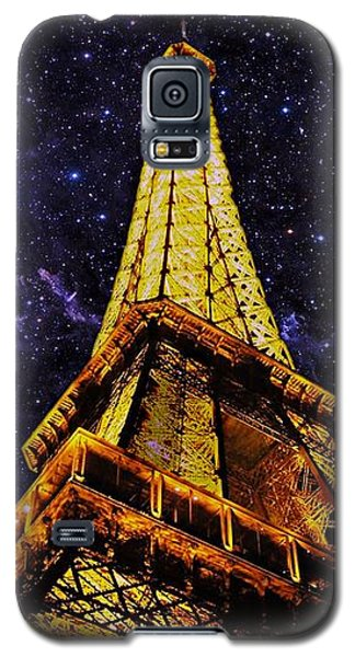 Eiffel Tower Photographic Art Galaxy S5 Case