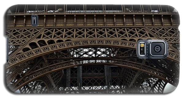 Galaxy S5 Case featuring the photograph Eiffel Tower - The Forgotten Names by Allen Sheffield