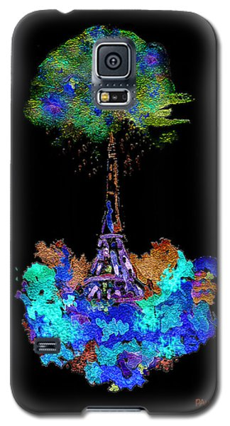 Eiffel Tower Topiary Galaxy S5 Case by Paula Ayers