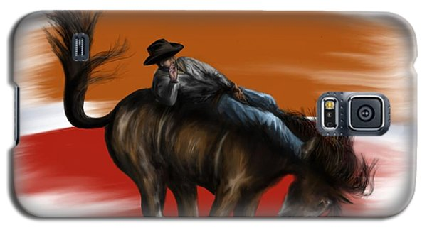 Eight Seconds - Rodeo Bronco Galaxy S5 Case