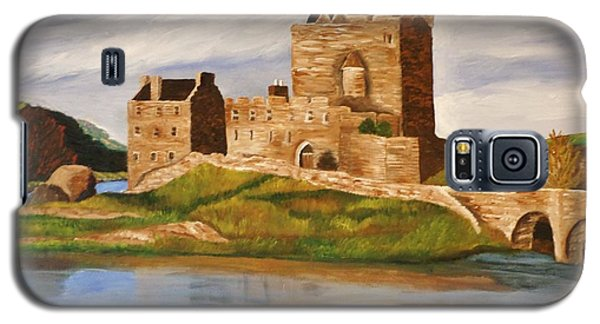 Eilean Donan Castle Galaxy S5 Case by Christy Saunders Church