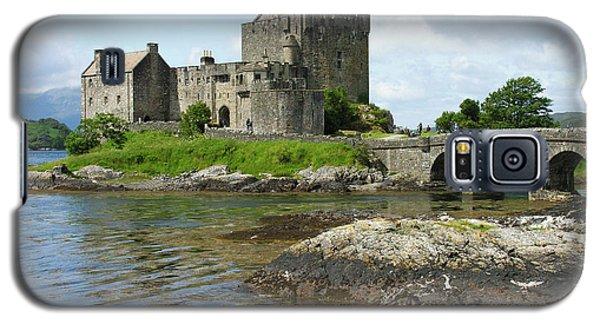 Eilean Donan Castle - Summer Galaxy S5 Case