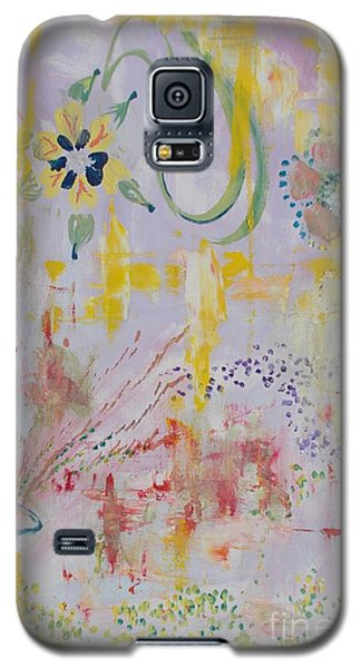 Galaxy S5 Case featuring the painting Eileens Wedding by PainterArtist FIN