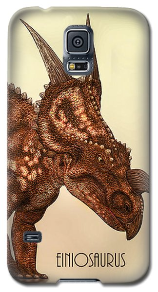 Einiosaurus Galaxy S5 Case by Bob Orsillo