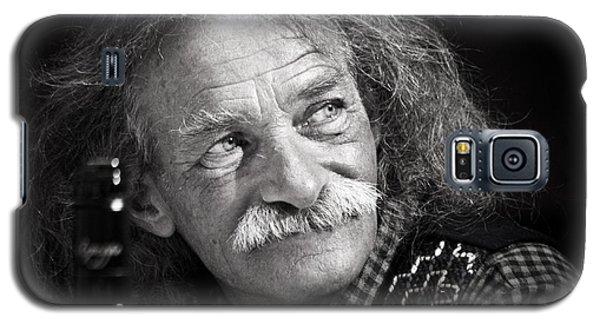 Einstein Hair Galaxy S5 Case