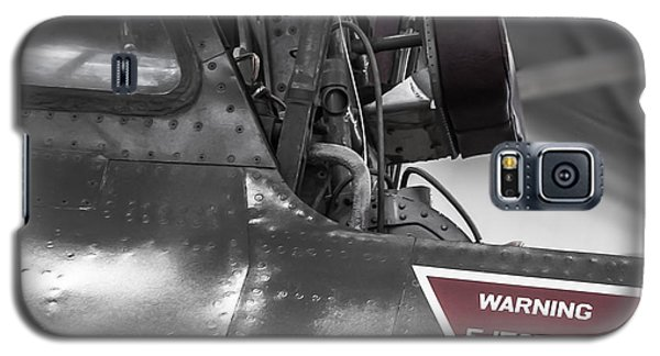 Ejection Seat Warning Galaxy S5 Case by Steven Milner