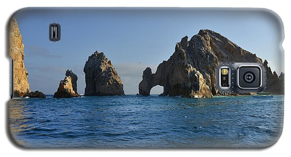 Galaxy S5 Case featuring the photograph El Arco - The Arch - Cabo San Lucas by Christine Till