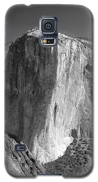 106663-el Capitan From Higher Cathedral Spire, Bw Galaxy S5 Case