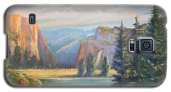 El Capitan  Yosemite National Park Galaxy S5 Case