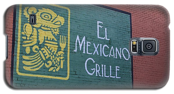 Galaxy S5 Case featuring the photograph El Mexicano Grille by Jerry Bunger