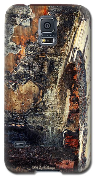 El Morro Arch With Border Galaxy S5 Case