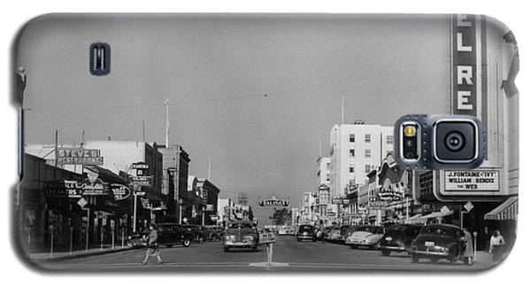 El Rey Theater Main Street Salinas Circa 1950 Galaxy S5 Case