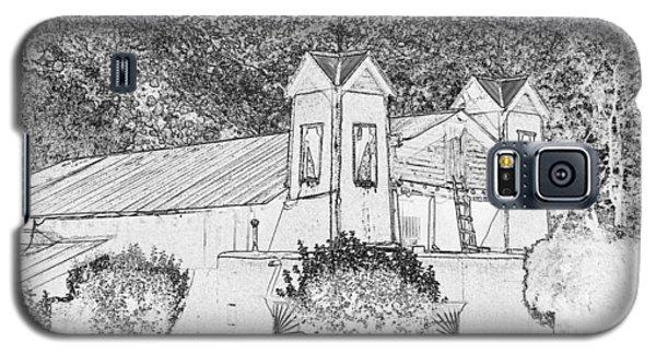 Galaxy S5 Case featuring the digital art El Santuario Chimayo by John Freidenberg
