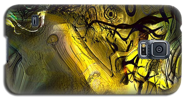 Galaxy S5 Case featuring the digital art Elaboration Of Day Into Dream by Richard Thomas
