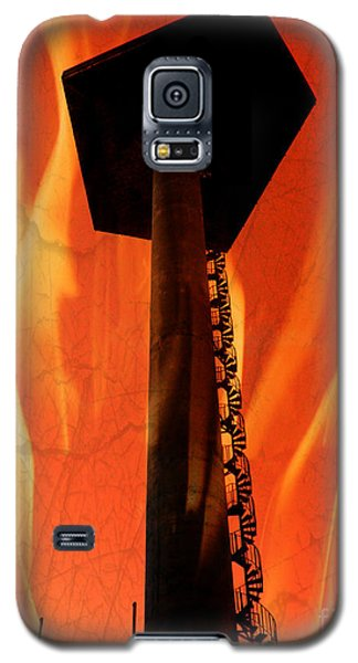 Galaxy S5 Case featuring the photograph Elastic Concrete Part Two by Sir Josef - Social Critic - ART