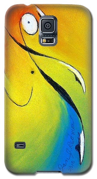 Galaxy S5 Case featuring the mixed media Elation by Dan Redmon