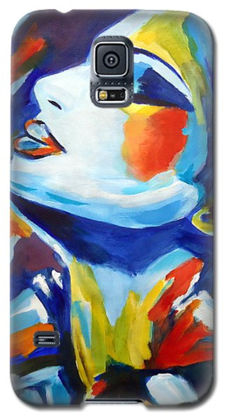Galaxy S5 Case featuring the painting Elation by Helena Wierzbicki