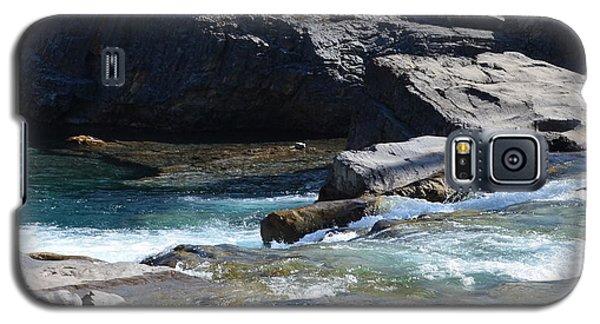 Elbow Falls Landscape Galaxy S5 Case by Cheryl Miller