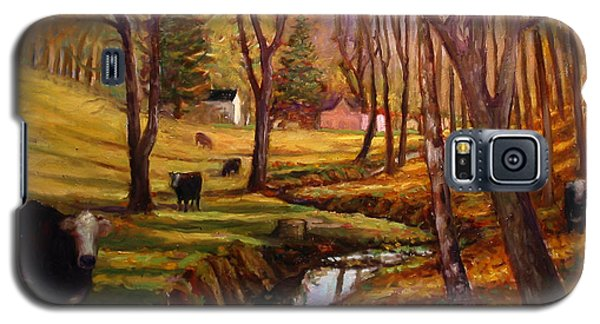 Elby's Cows Galaxy S5 Case